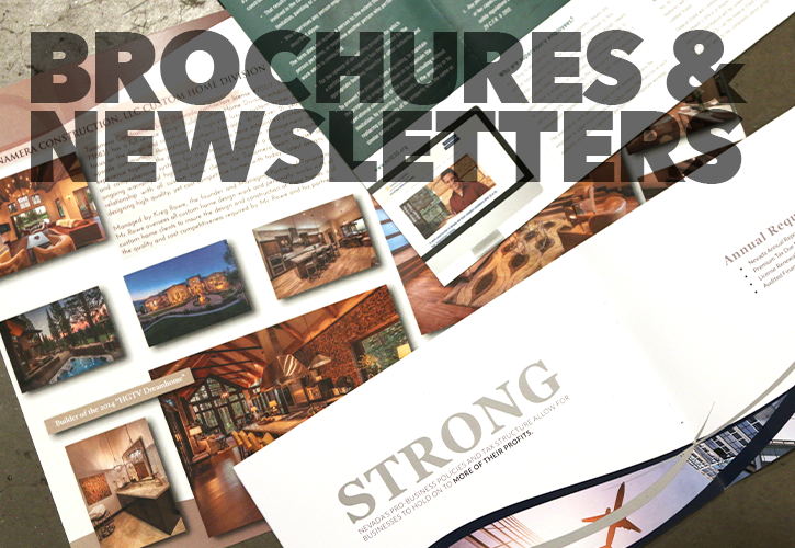 Brochures & Newsletters