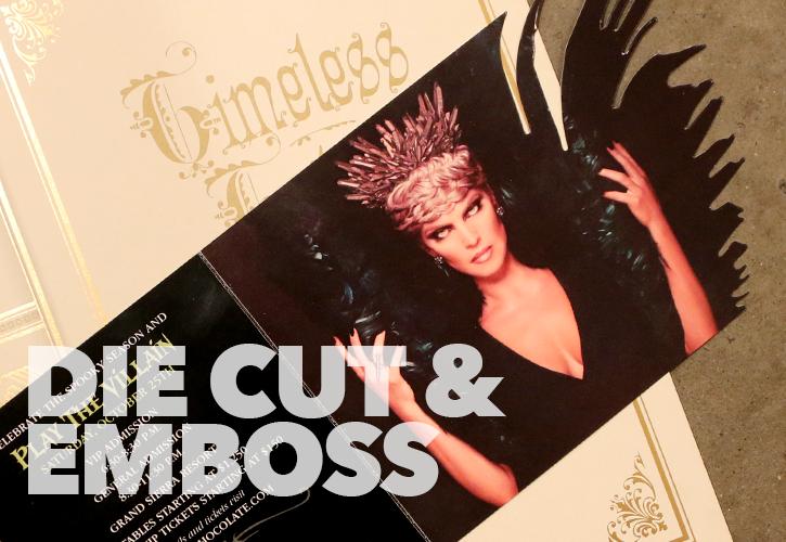 Die Cut & Emboss